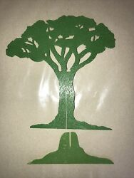 Vintage 1960's 1970's Multiple Toymakers Planet Of The Apes Playset Tree Part