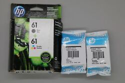 Hp 61 Combo Black And Color Ink Cartridge New Genuine
