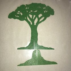 Vintage 1960's 1970's Multiple Toymakers Planet Of The Apes Playset Tree Part B