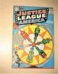 Justice League Of America 6 1st App Of Prof Fortune No Restoration