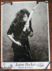 Limited Edition Signed And Numbered Guitar Kiss Poster 24x17inches