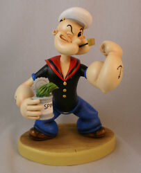 Popeye The Sailor-man I Yam What I Yam 8 Figurine Connoisseur Retired