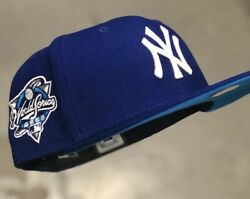 Hat Club Exclusive Gum Pack Ny Yankees 2000 Ws New Era 7 1/2