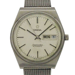 Omega Antique Seamaster Automatic/self-winding White/white Dial