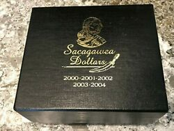 Sacagawea Dollars Proof/unc Sets -2000, 2001, 2002 ,2003, 2004 Some Nicely Toned