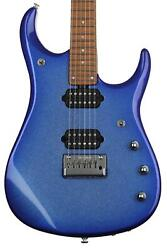 Ernie Ball Music Man Jp15 Electric Guitar - Pacific Blue Sparkle Sweetwater