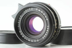 Near Mint Leica Leitz Summicron M 35mm F2 Canada Wide Angle Lens From Japan