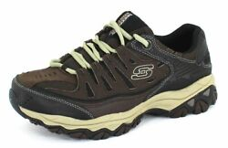 Skechers Menand039s After Burn Memory Fit Brown Taupe