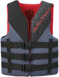 Full Throttle Adult Rapid Dry Vest-small/medium 32-40 Black