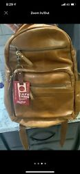 Rawlings Leather Backpack New With Tags Tan In Color $45.00