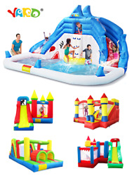 Inflatable Bounce House Water Slide Pool Castle Kids Christmas Present Birthday