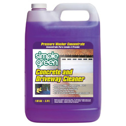 Simple Green Concrete And Driveway Cleaner Pressure Washer Concentrate 1 Gal.