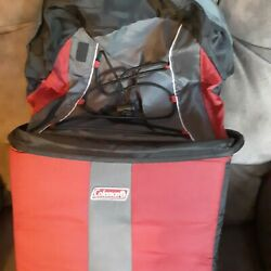 Coleman 12 Can Cooler red backback $18.00