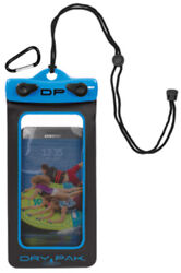 Dry Pak Smart Phone Gps Mp3 Case 4 X 7 Electric Blue For Beach Pool