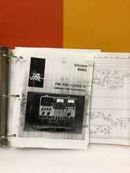 Ifr Fm/am-1200s/a Communications Service Monitor Service Manual