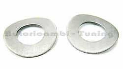 Pair Washers Undulated Fit For Handle Deflector Fiat 500 Old