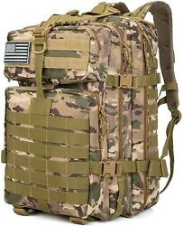 Military Surplus Tactical Backpacks For Men Tactical Gear 38L Large Capacity... $36.43