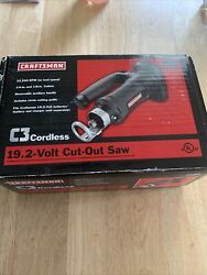 Craftsman 19.2 Volt Cordless Cut Out Saw 315.115820 New Open Box Bare Tool