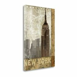 Autumn In New York By Keith Mallett Gallery Wrap Canvas 16 X 24