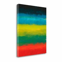 Night Coast Two By Jan Weiss Gallery Wrap Canvas 20 X 24