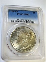 1902 O Morgan Dollar Vam 26a Doubled Profile And Reverse Lettering Clashed Obv G