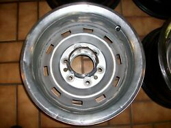 1970s-1980s Chevy/gmc 4x4 Truck Blazer Oem 15x8 Rally 6 Lug Wheels And New Caps