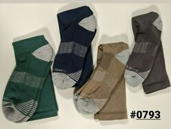 Tommie Copper Mens Compression Over the Calf Socks 9 11.5 Green Navy Blue $16.99