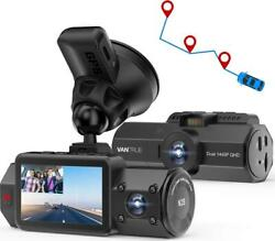 Vantrue N2s Dual 2.5k Dash Cam With Gps, 4k Single Front Or 1440p Front And Car
