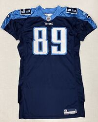 Tennessee Titans Nike Game Worn Jersey Used Team Issue Cooper Wallace 89