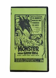 Monster From Green Hell Vintage Rare Vhs 50's Sci Fi Horror Collectible Camp