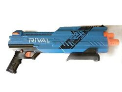 Nerf Rival Atlas Xvi-1200 Blaster - Blue Pre Owned Spring Action No Bullets