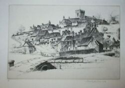John Taylor Arms-signed Etching-the Old Order-1948