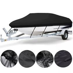 Marine Trailer Able Canvas Boat Accessories Waterproof Boat Cover New Heavy 210d