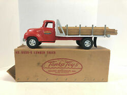 Tonka Ford Lumber Truck Vintage 1955 With Box