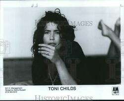 1988 Press Photo Toni Childs, Rock And Pop Singer, Songwriter And Musician.