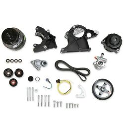 Holley 20-136bk Ls Complete Accessory Drive Kit Gm Ls-series Engines High Mount