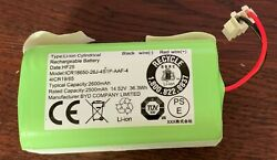 Rechargeable Lithium Ion Battery 14.5v For Ecovacs Vacuum Icr18650-26j-4s1p-aaf-