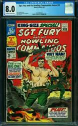 Sgt Fury And His Howling Commandos Annual 3 Cgc 8.0 Oww Pages A9