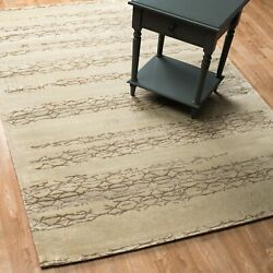 Alexander Home Emerson Vintage Glam Rug Ivory/mocha 12and039 X 15and039