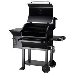 Outdoor Charcoal Pit Patio Backyard Meat Cooker Smoker Bbq Grill Garden Camp Us