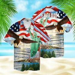 Land Of The Free Island Tourism Hawaii Shirt For Men Full Size S-5xl