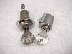 New 46-51 Willys Jeep Jeepster Station Wagon Truck Glove And Ignition Locks And Keys