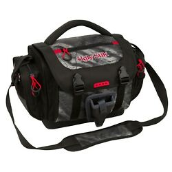 Fishing Tackle Bag Waterproof Large W/ 4lure Box Container Gear Storage Pockets.