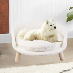 Washable Cat Stool House Nordic Pet Kennel Soft Flush Open Dog Bed Chair Sofa