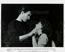 1985 Press Photo Diane Franklin And John Cusack In Better Off Dead Movie