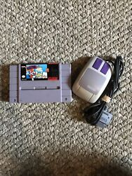 Mario Paint Super Nintendo Entertainment System 1992 And Super Nintendo Mouse