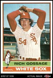 1976 Topps 180 Goose Gossage White Sox 8 - Nm/mt