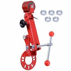 Fender Roller Tool Lip Rolling Extending Auto Body Shop W/ Conical Lug Nut Rings