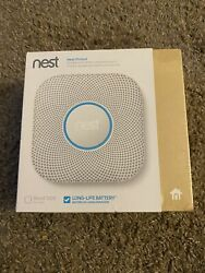 Nest Protect Smoke And Carbon Monoxide Alarm 2nd Gen S3000bwes