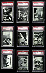 1966 Topps Superman Almost Complete Set 6.5 - Ex/mt+